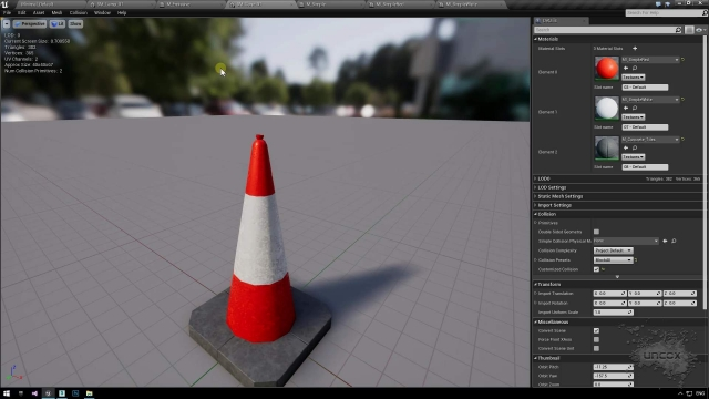 12-traffic-cone-ue4-with-material